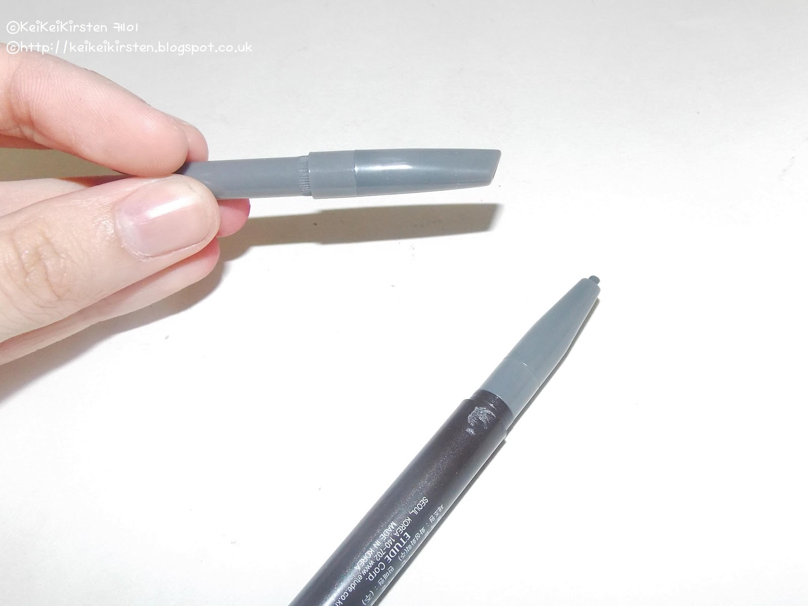 Keikeikirsten 05 Drawing Eyebrow New When Your Etude House Pencils Original Crayon Runs Out All You Got To Do Is Remove It Attached The Refill In Its Place Super Quick