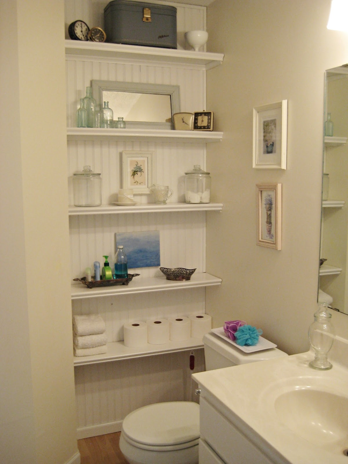 Happy At Home: Changes To The Bathroom