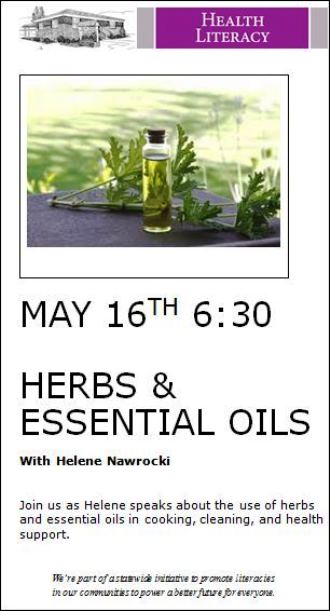 5-16 Herbs & Essential Oils