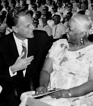 Evangelist Billy Graham & Ethel Waters