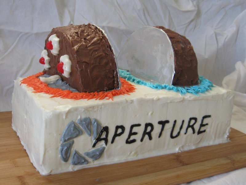 Similiar Portal 2 Birthday Cake Keywords