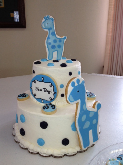 Sweets By Sherie: Giraffe Baby Shower