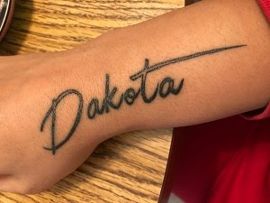 Armani's Tattoo - A Tribute To Dakota :))