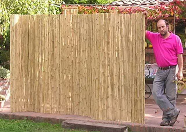 Bamboo Fence Rolls1
