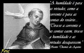 Blog Do Ilivaldo Duarte Santo Tomas De Aquino E A Humildade