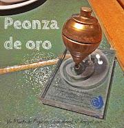 Peonza de oro premio Espiral 2014