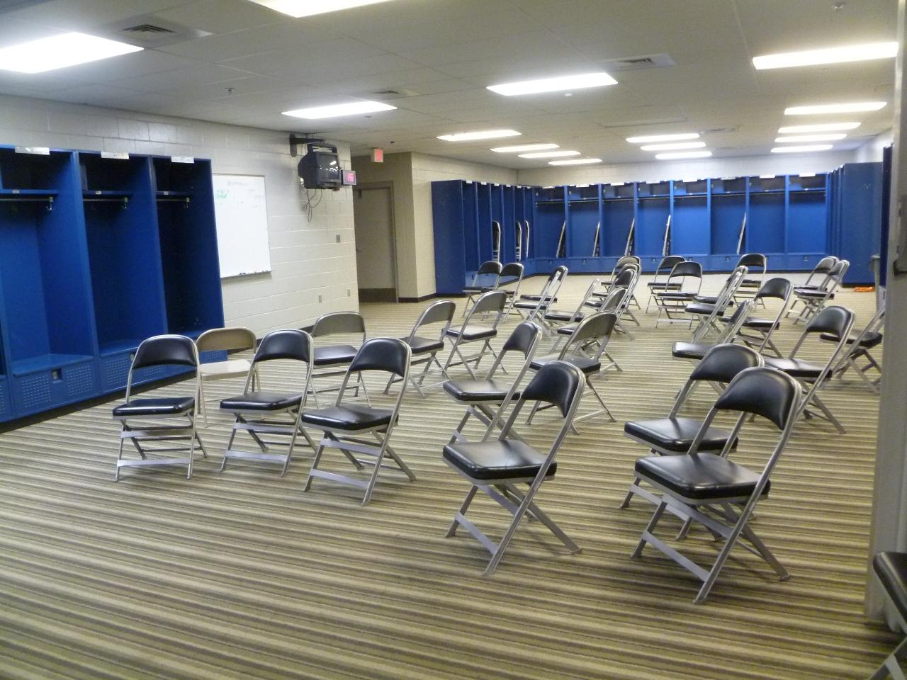 Gillette Stadium Locker Room Tour