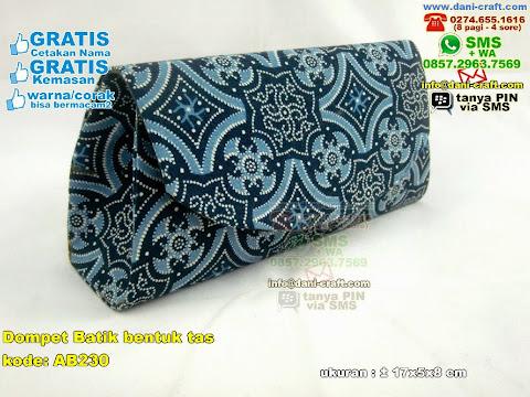 Dompet Batik Bentuk Tas