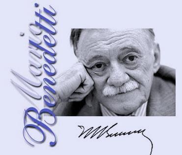 Mario Benedetti (fotografía con firma)