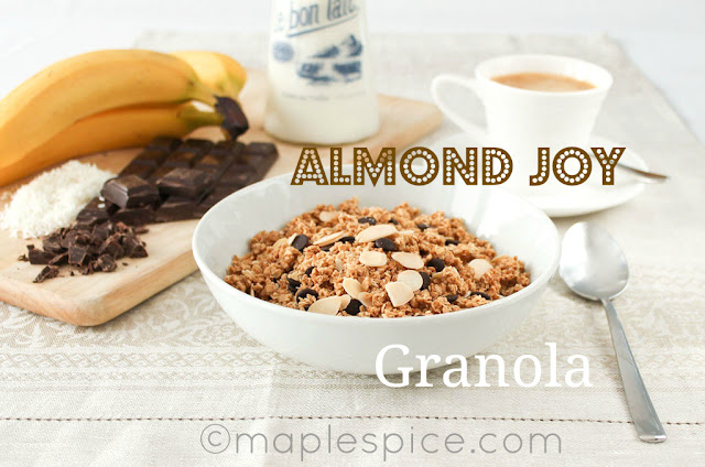 Vegan Almond Joy Granola