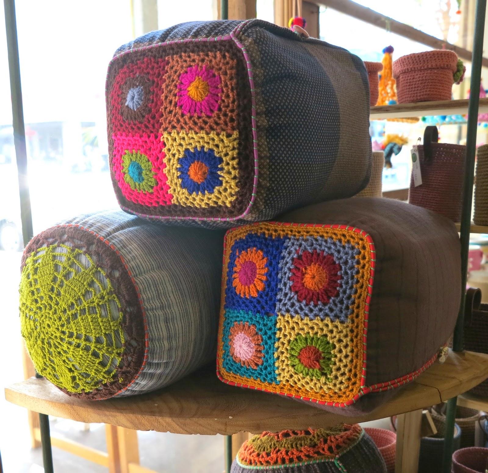 ByHaafner, crochet, Bantakor, Chiang Mai, fairtrade, granny square
