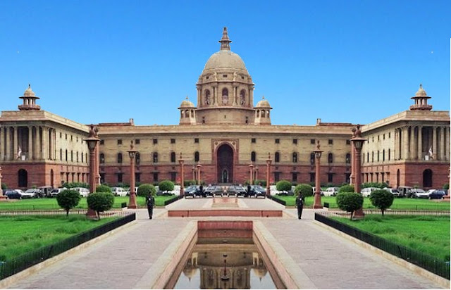 Indian-Government-South-and-North-Block-new-delhi
