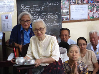 Interview with U Win Tin – Remembering U Kyi Maung and etc …