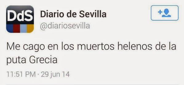 Frases que dejaron huella, Twitter, Diario de Sevilla