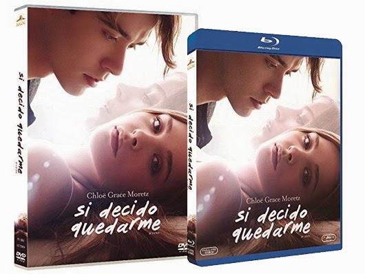 A la venta 'Si decido quedarme' en DVD y Blu-ray