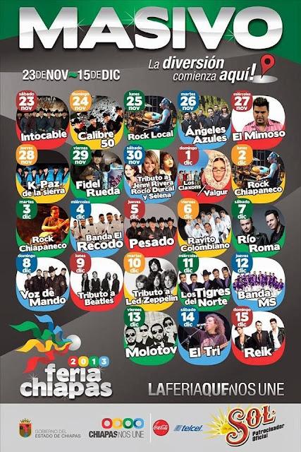 Programa Masivo Feria Chiapas 2013
