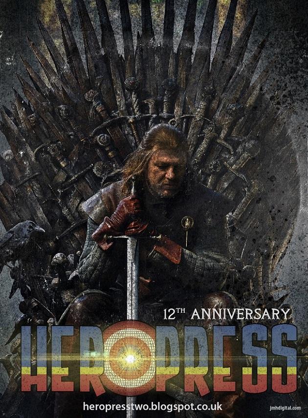 CELEBRATING TWELVE YEARS OF HEROPRESS!!!