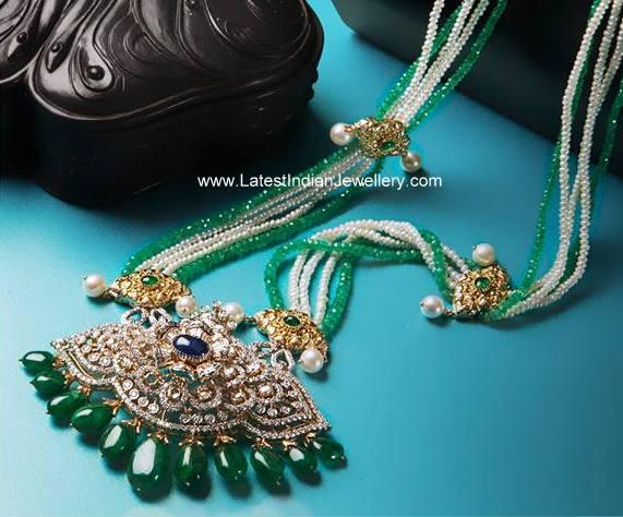 Diamond Pearls Rani Haram