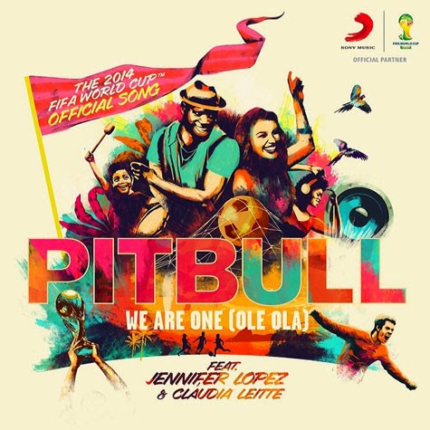 Mira el video de la canción oficial del Mundial Brasil 2014