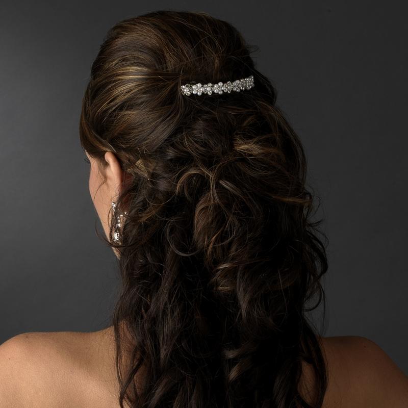 hårspänne till bröllop