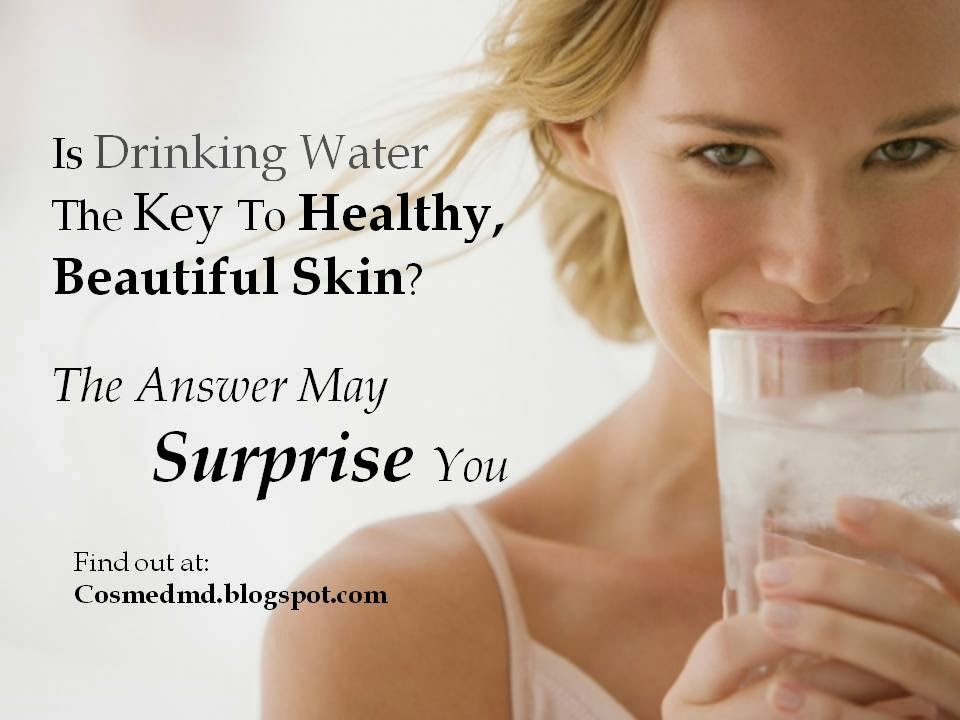 does drinking water help your skin