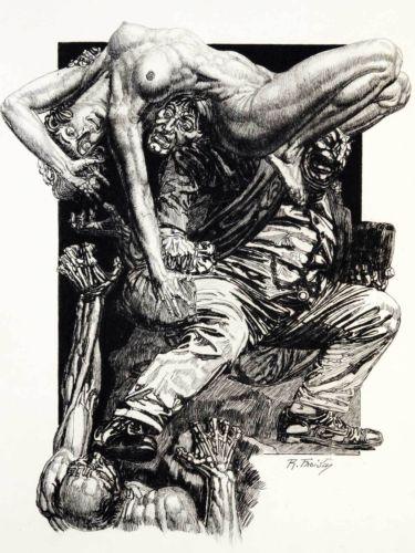 Librairie ancienne et autres tr sors octave mirbeau - Octave mirbeau le jardin des supplices ...