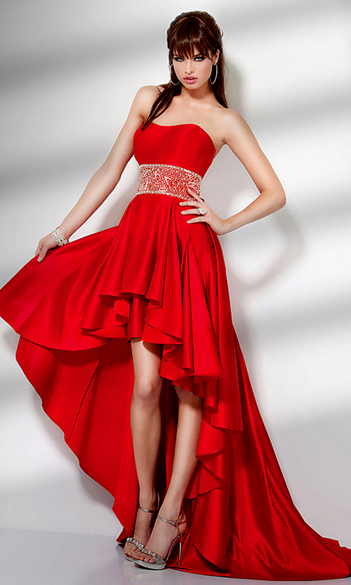 Beautiful Red Dress For Valentine