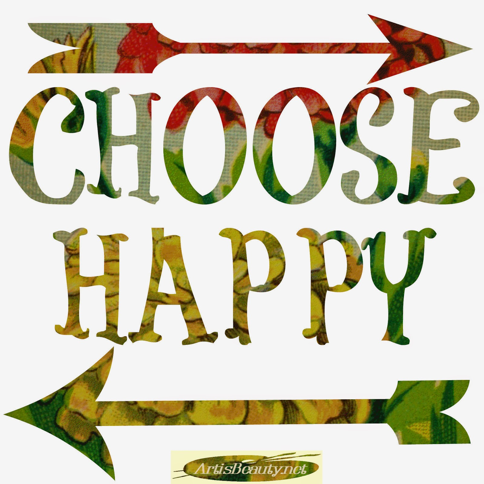 """ART IS BEAUTY: """"Choose Happy"""" and """"Lets go on an Adventure ... Happy"""