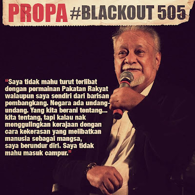 Pandangan YB Karpal Singh dalam isu Himpunan Black505 Padang Merbok