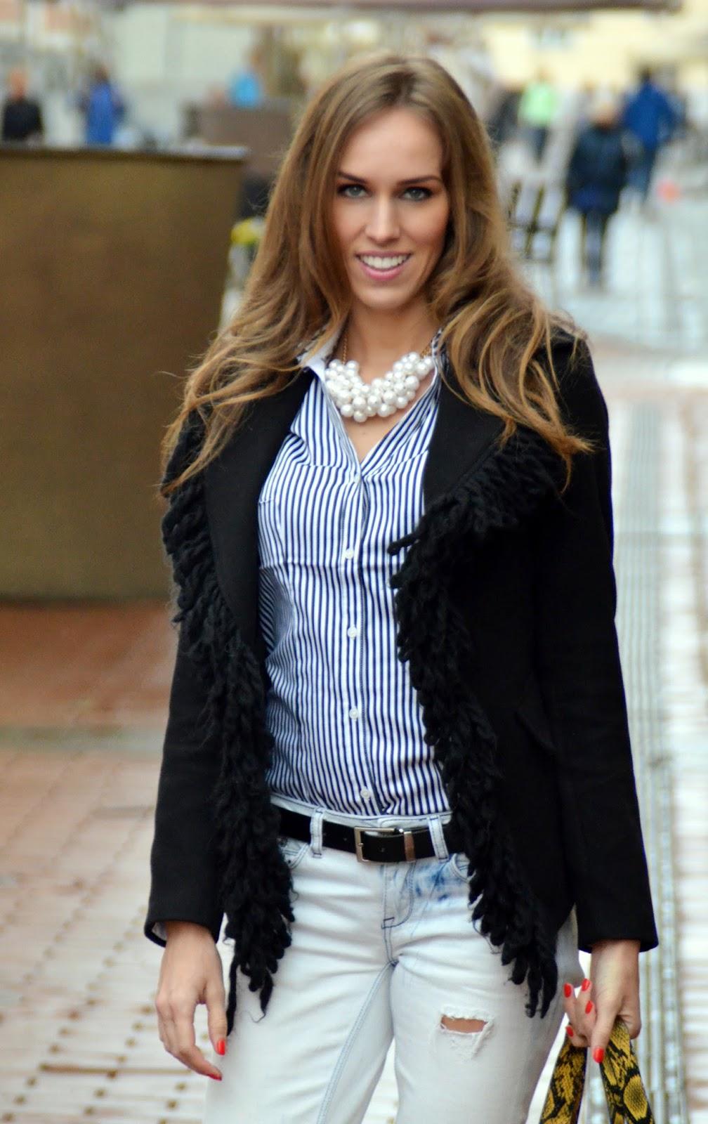 monton-wool-jacket-black-hm-striped-shirt