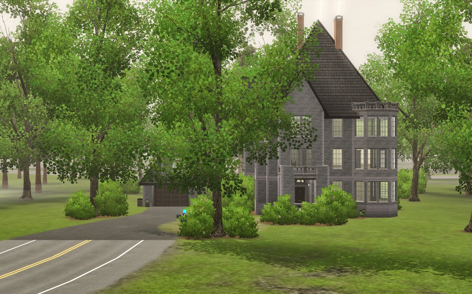 Summer's Little Sims 3 Garden: Moonlight Falls List of Houses