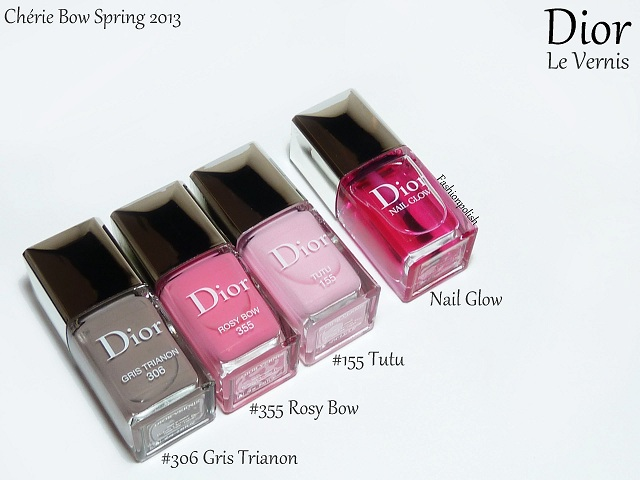 Fashion Polish: Dior Chérie Bow Spring 2013 Review