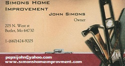 SIMONS HOME IMPROVEMENT