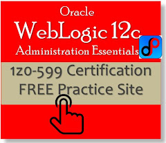 1z0-599 Oracle WebLogic 12c Administration Essential
