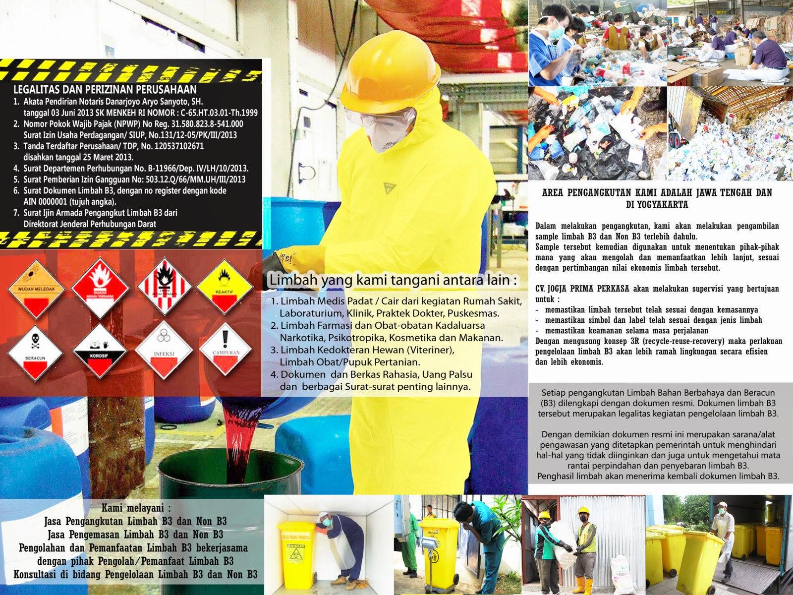 Jasa Transportasi Limbah B3, medis, cair, industri Jakarta, Bandung, Jogja, Semarang, Surabaya, Solo