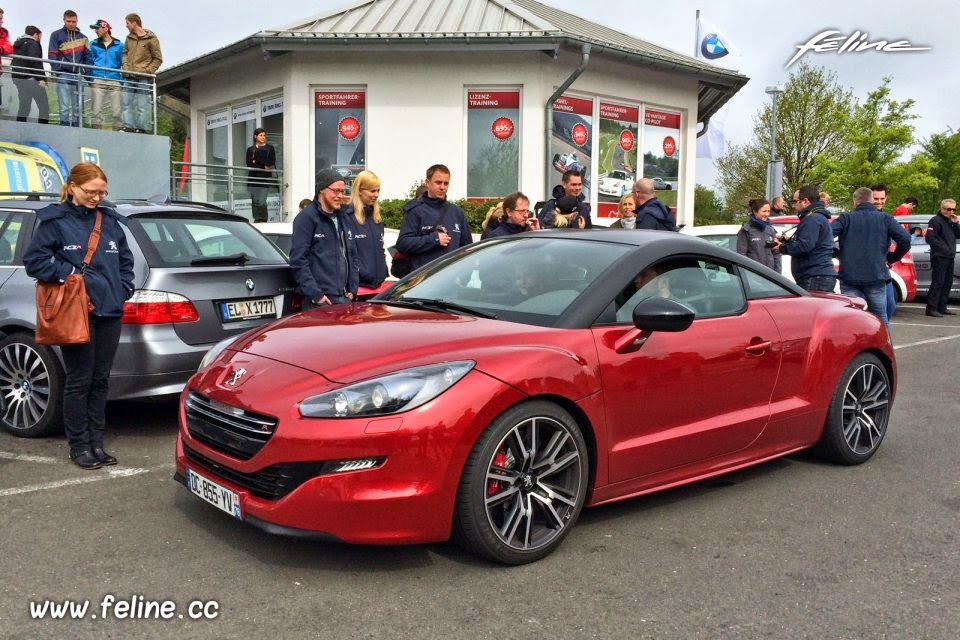 pepopolis peugeot fan days 4 nurburgring en rcz r. Black Bedroom Furniture Sets. Home Design Ideas