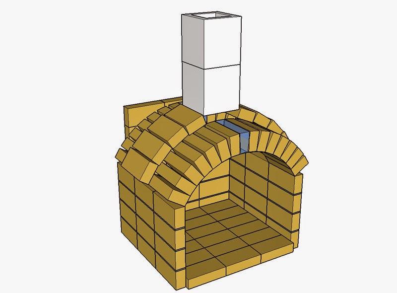 Construire un mur en pierres avec for Barbecue d angle en brique
