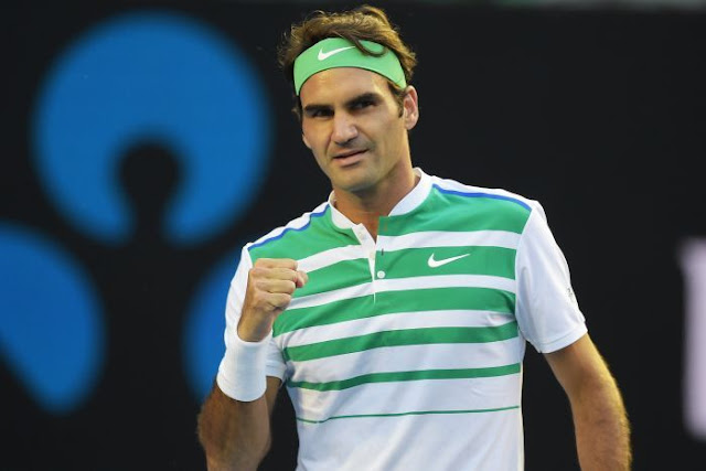 PHOTO: Through to the second round ... Roger Federer. (AAP: Lukas Coch)