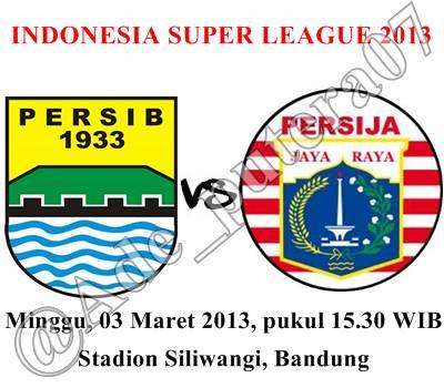 Hasil Skor Akhir Pertandingan Persib vs Persija ISL (Minggu, 3 Maret ...