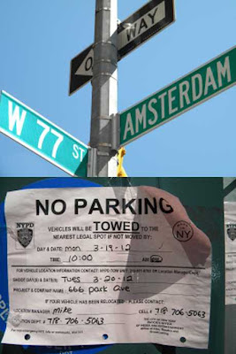 ABC 666 Park Avenue Location Shoot Notice photo by sookietex