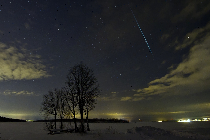 Geminid Meteor 2012