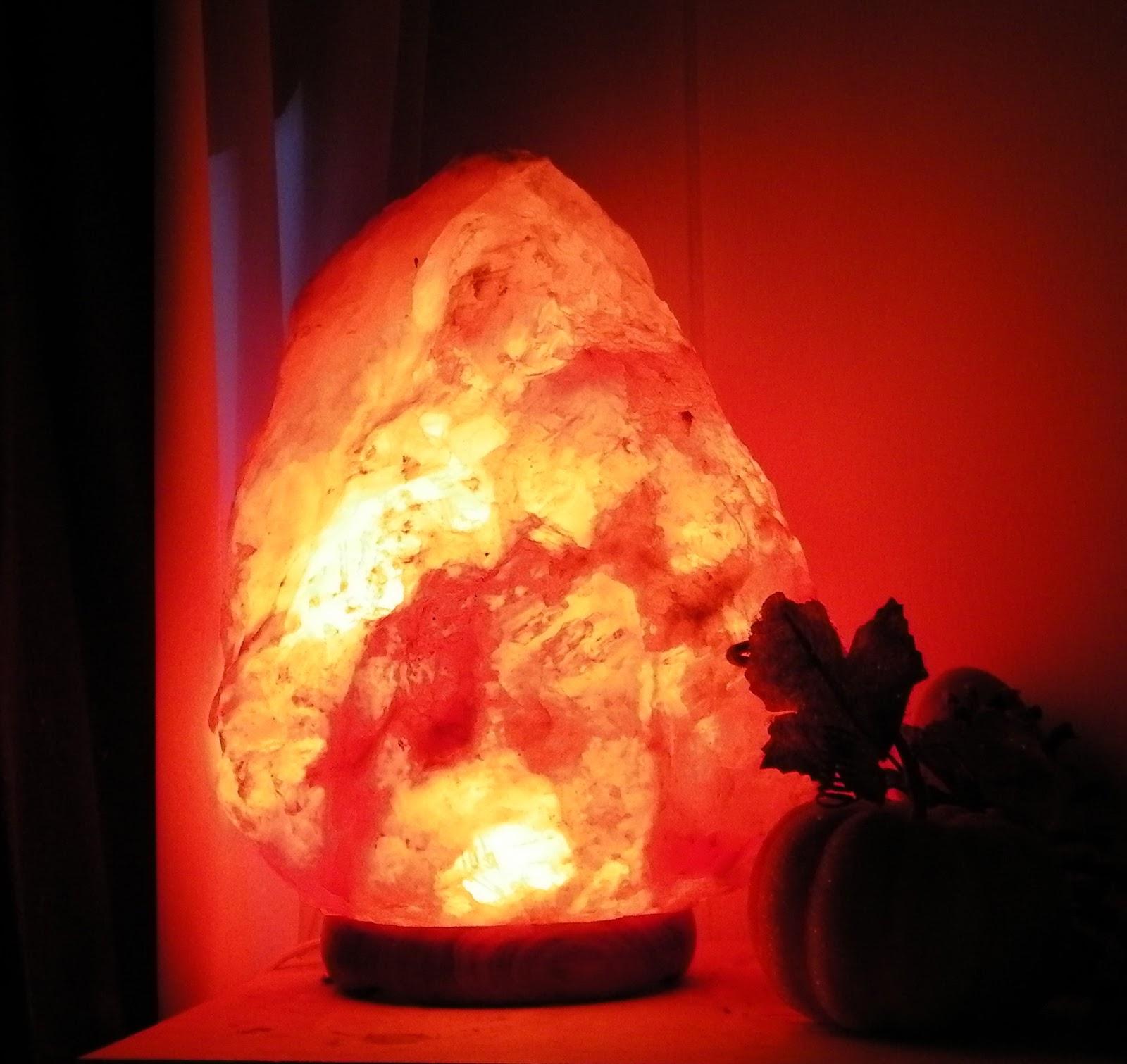 Himalayan salt blog december 2012 for Pure himalayan salt lamp