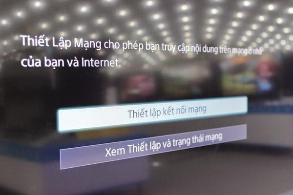 Hướng dẫn kết nối mạng cho Tivi Sony qua wifi 4