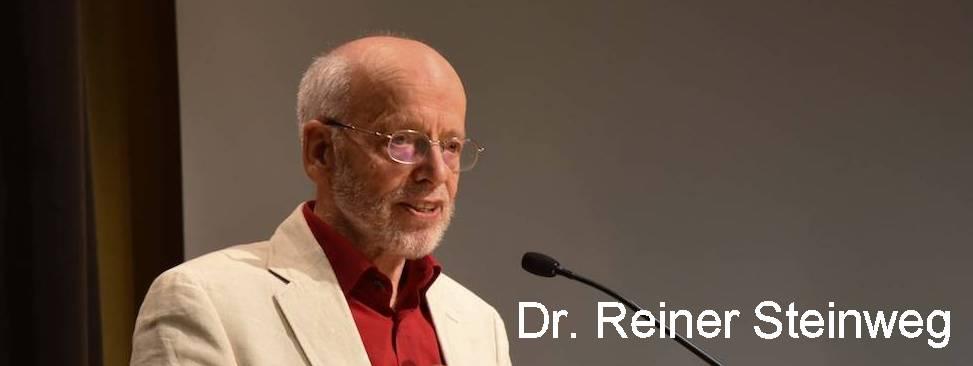Dr. Reiner Steinweg (englisch)