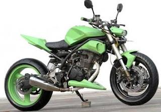 Foto Modifikasi Yamaha Scorpio Supermoto
