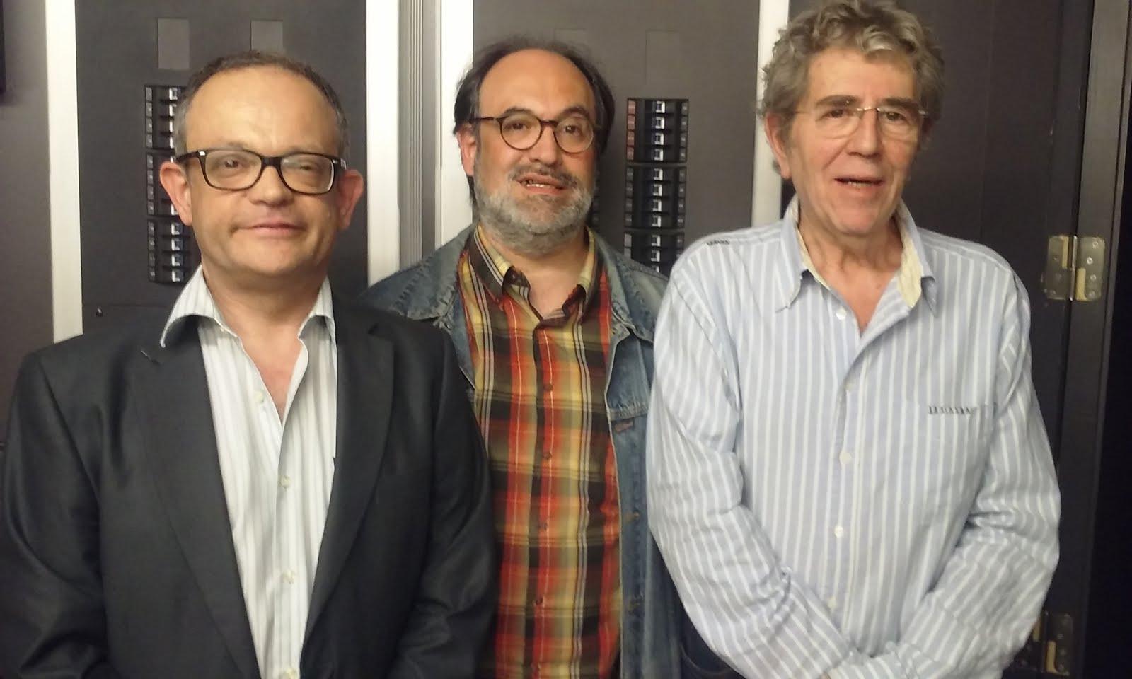 Amb el Quico Pi de la Serra i en Ricard Pérez