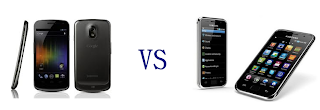 galaxy nexus vs galaxy s2