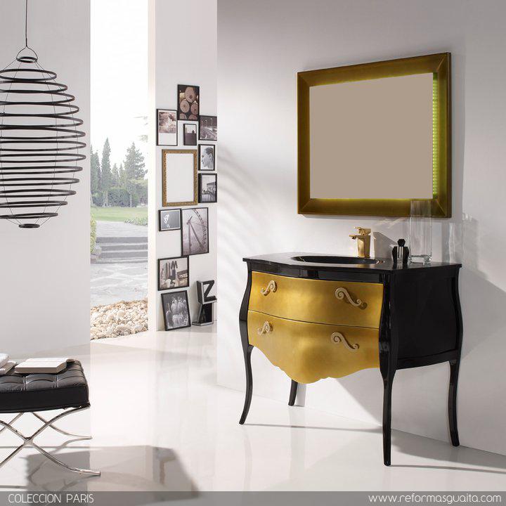 Muebles De Baño Estilo Neoclasico:la gama de acabados y queríamos mostraros el resultado lleno de