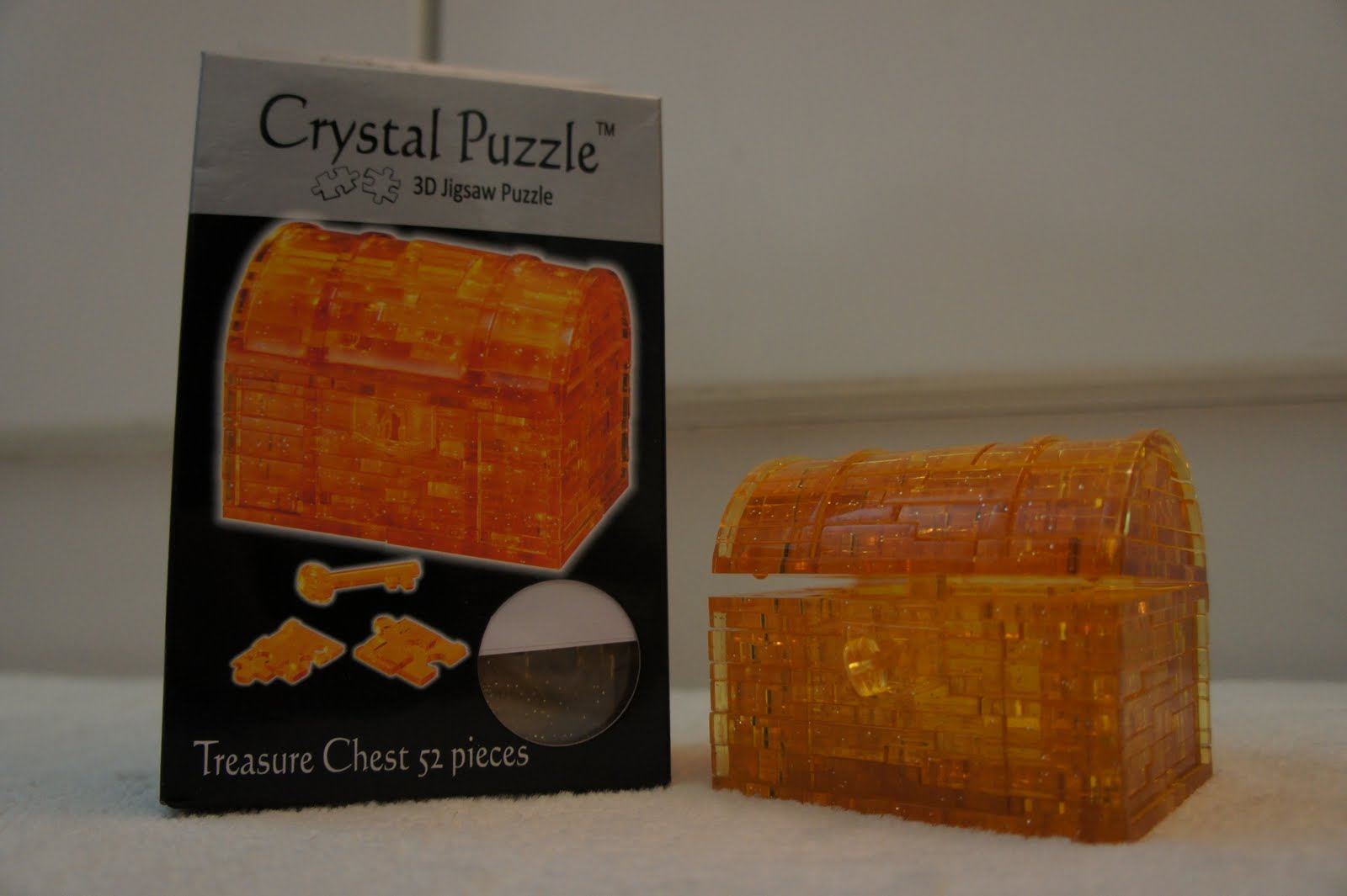 3d crystal puzzle treasure chest instructions