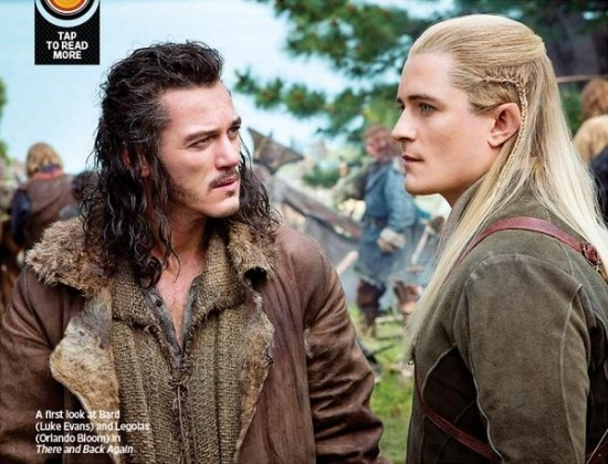 Bard and Legolas - There and Back Again